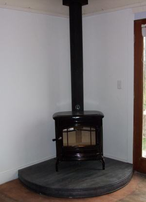 New Wood Stove The Collie Farm Blog