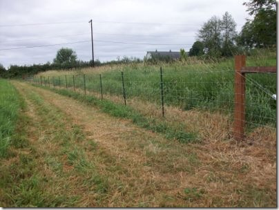tractor supply fencing field fence stretching the collie farm blog
